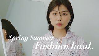 봄과 여름 사이 SS 패션하울 (ft.귀걸이 소개)  …
