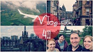 MEETING BZVLOGS IN GLASGOW! | Scotland Travel Vlog