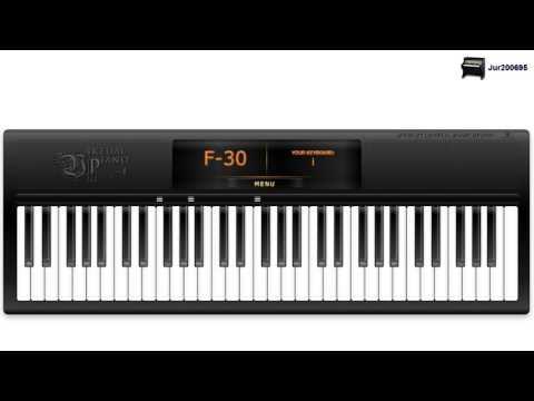 Mozart - Lacrimosa (Requiem in D minor) - Virtual Piano