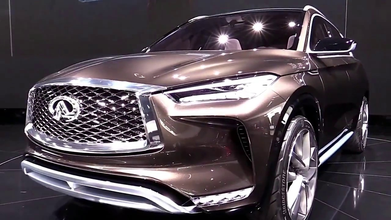 2018 infiniti qx50 concept exterior and interior first impression look in 4k youtube. Black Bedroom Furniture Sets. Home Design Ideas