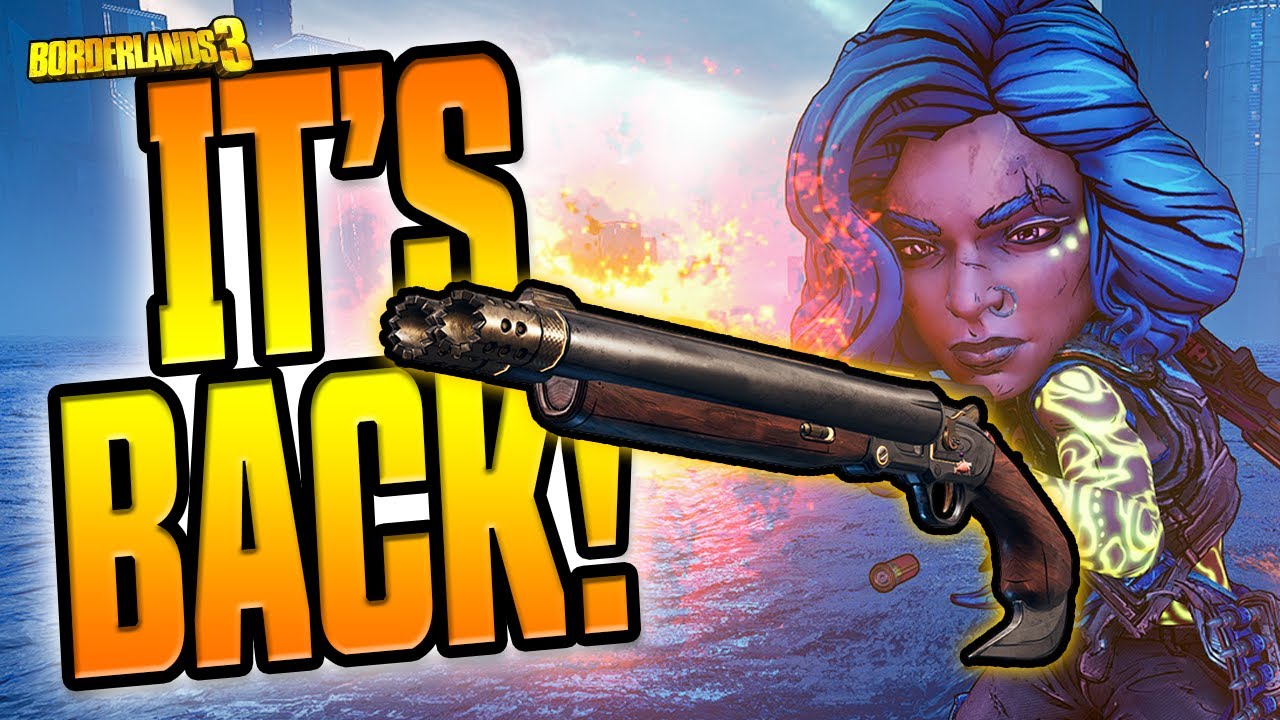 THE HELLWALKER IS BACK! Sept 3 2020 Hotfix - Weapon Buffs & Boss Loot Increase! [Borderlands 3] thumbnail