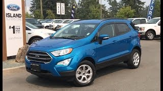 2018 Ford EcoSport SE Convenience AWD Review| Island Ford