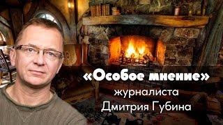 Особое мнениеДмитрий Губин журналист04.12.2018