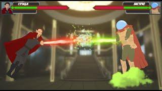 Доктор Стрэндж против Мистерио / Битва супергероев