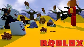 WAVE AFTER WAVE OF ZOMBIES GET GOT BY THE COMMANDO - Roblox Tower Battles gaming adventures