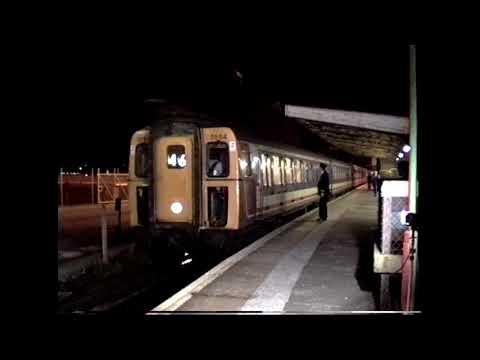 Dover Western Docks Last Train c1994