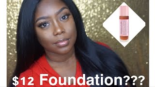 Makeup Revolution Conceal & Define Full Coverage Foundation | Demo + Review
