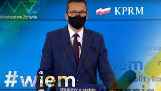 Koronawirus w Polsce. Premiera ogłasza nowe obostrzenia. Zamknięte szkoły, możliwy lockdown