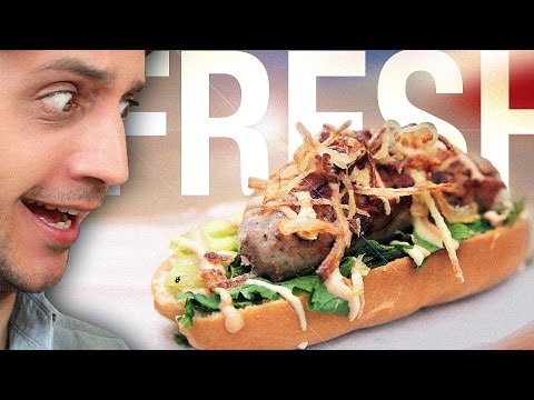 Fresh & French Hot Dog in Paris ! Size doesn't matter. Well… Dusting off French Food