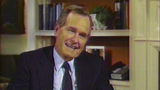 George H.W. Bush in 1987