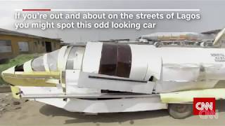 The Nigerian inventor building a jet car