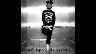 Repeat youtube video The weeknd- Or nah (speeded up: Aremix)