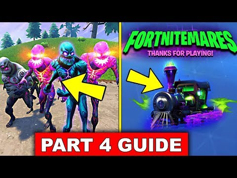 FORTNITEMARE CHALLENGES PART 4 GUIDE! - Destroy Elite Cube Monsters, Damage Cube Fragments