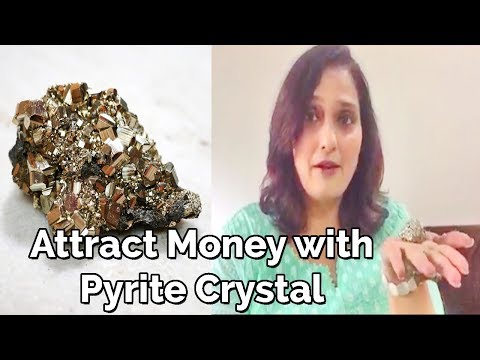 Attract Money with Pyrite Crystal | Life changing Crystal | Money & Abundance