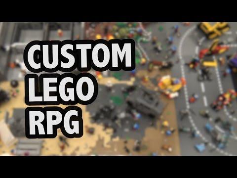 LEGO Lockup Role-Playing Game | World War Brick 2017