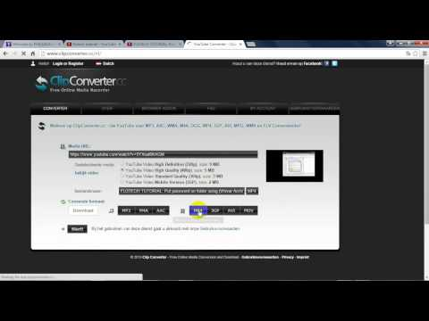 FLOTECH TUTORIAL: Download Music,Video Then convert to any format using (YouTube, Clip Converter)