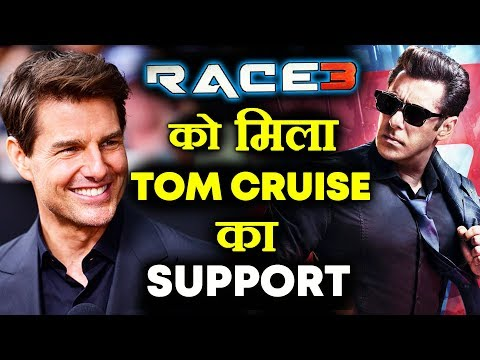 Now TOM CRUISE Wish Good Luck To Salman Khan's RACE 3