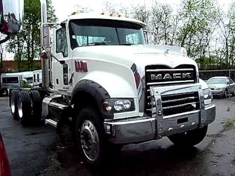 2011 Mack Granite Gu713 Walk Around Youtube