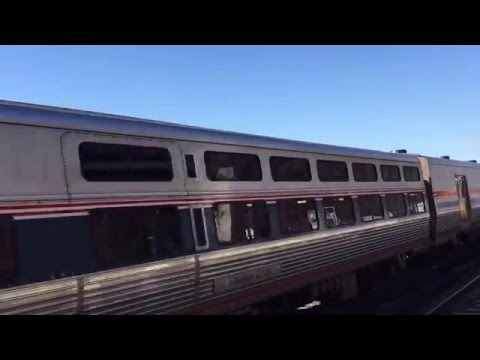 Amtrak Viewliner Diner 8400 on the Lake Shore Limited