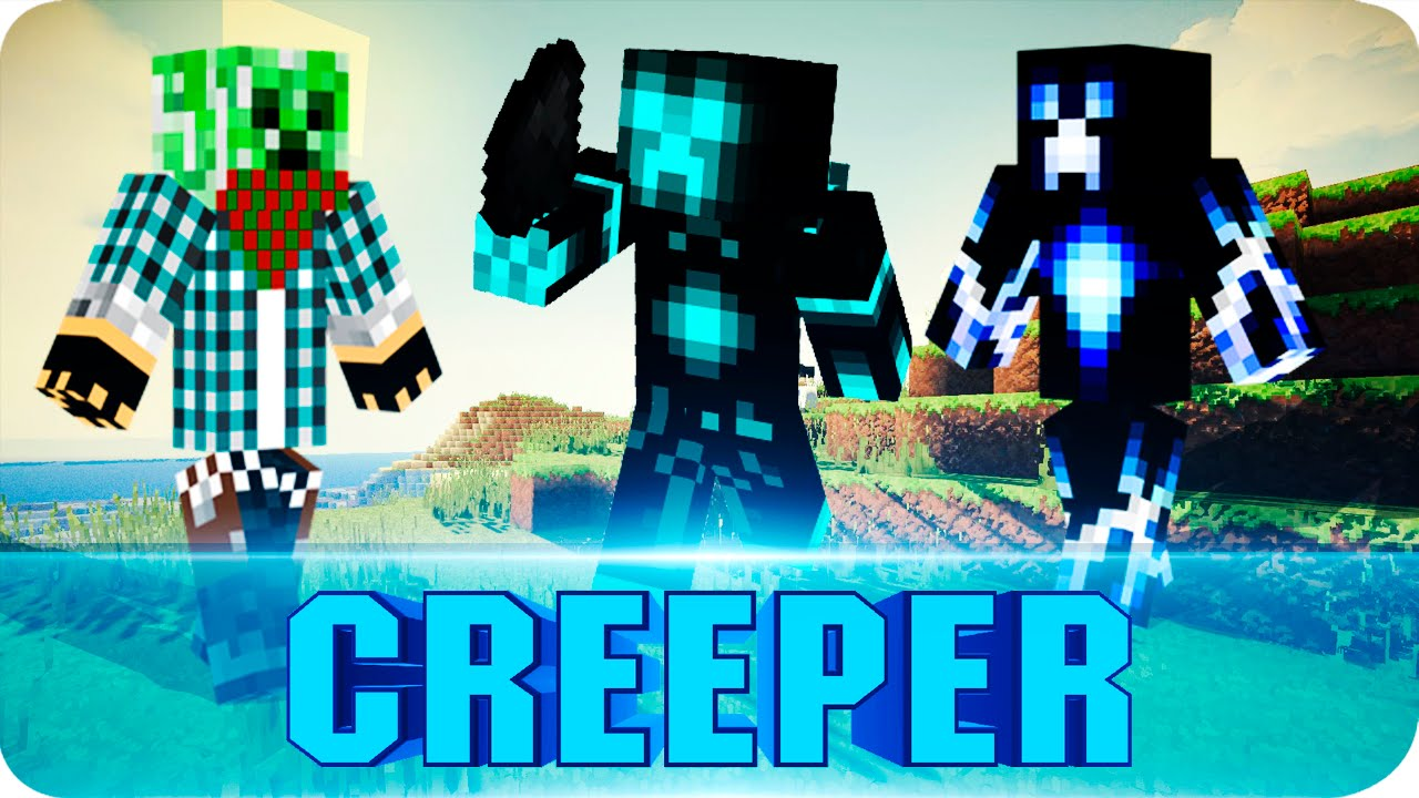 Minecraft PE TOP CREEPER SKINS Pocket Edition Skins W Download - Skins para minecraft pe 0 15 6