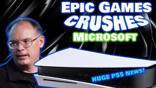 Epic Games Just CRUSHED Microsoft By Confirming Enormous PS5 News! They Just Helped Sony Win!