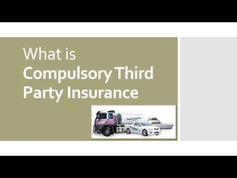 What is Compulsory Third Party Insurance