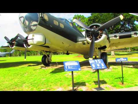 B-17 Flying Fortress at Air Force Armament Museum