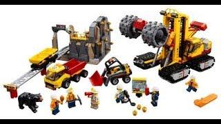 LEGO LEGOMAN 60188 PART 1  - MINING EXPERTS SITE  - BUILDING INSTRUCTION
