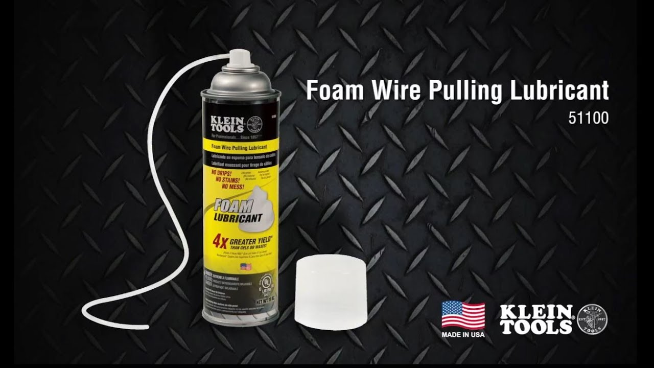 Foam Wire Pulling Lubricant - YouTube