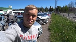 Битые автомобили в Финляндии. Автохлам за копейки?