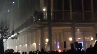 Police Get Into Shootout with Antifa Protesters at UC Berkeley Milo Yiannopoulos Event 2/1/2017