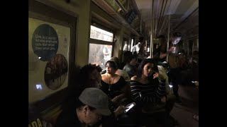 NY Subway Derailment Prompts Outage, Evacuations