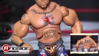 TNA FIGURE INSIDER: Hernandez - TNA Deluxe Impact 12 Jakks Pacific Wrestling Action Figure Review
