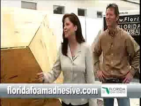 "Florida Foam Adhesive ""Strength Test"""
