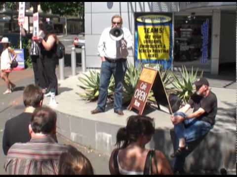 Radio New Zealand Protest, Auckland, 1st March 2010 Mp3