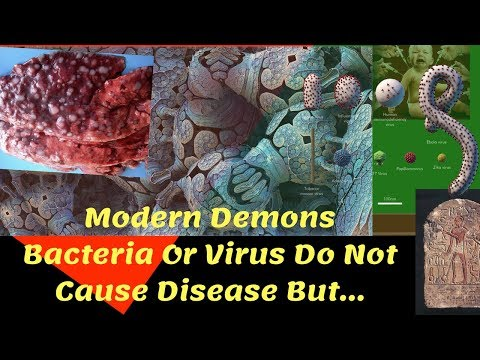 Modern Demons Bacteria Or Virus Do Not Cause Disease But…