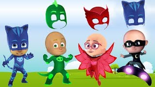 Pj Masks Wrong Heads For Learning Colors