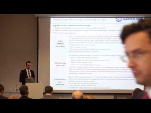 AB Klaipedos nafta bendrovės vadovo susitikimas su investuotojais