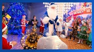 """Новогодний утренник в детском саду """"Ах, как пляшет Дед Мороз"""" г.Павлодар"""