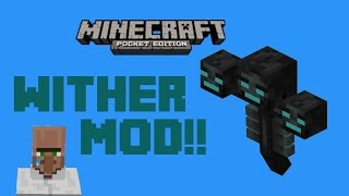 ✔0.10.5 - Wither Boss Mod!!