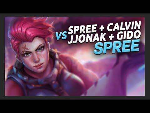 SPREE - Intense Game on BlizzWorld ft. CALVIN VS. JJONAK + GIDO