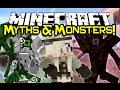 Minecraft MYTHS & MONSTERS MOD Spotlight! - Mythological Mobs! (Minecraft Mod Showcase)