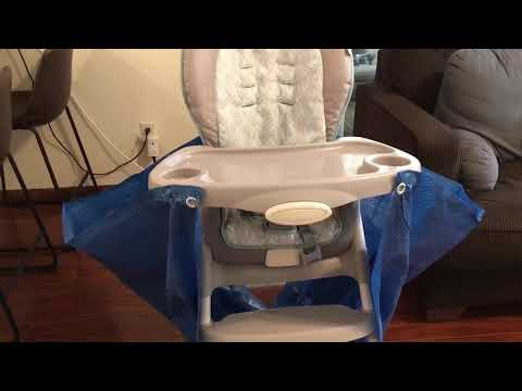 High Chair Food Catcher—DIY.