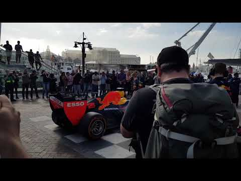 Formula One Car Flawlessly Plays South African National Anthem!
