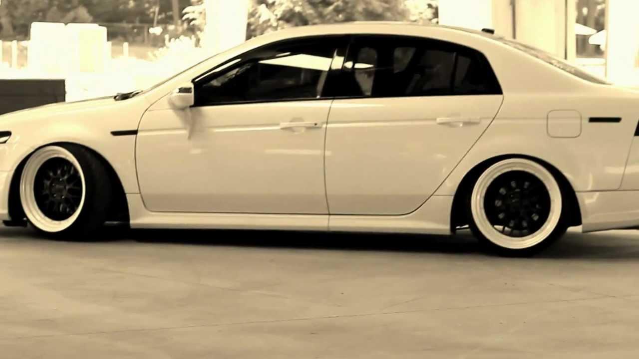 acura-tsx-white-enkei-rpf11 White Acura Tsx