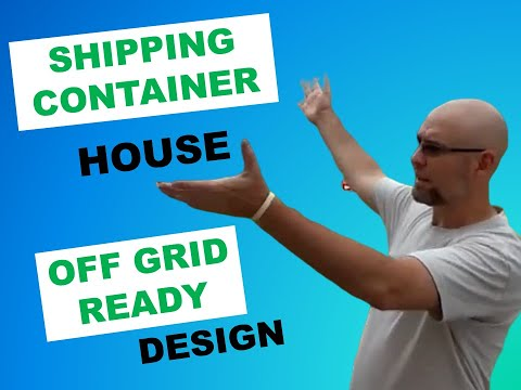 Shipping Container House-Off Grid Ready Idea