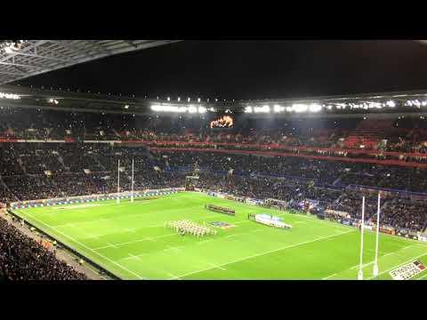 Marseillaise - France V New Zealand @ Groupama Stadium - 14/11/17