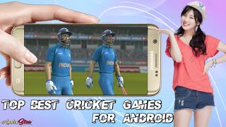 Top 5 Cricket Games For Android!! Top High Graphics Cricket Games For  Android