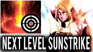 Next Level Blind SunStrike by Inyourdream Professional Invoker Boss Dota 2 WTF Epic Gameplay