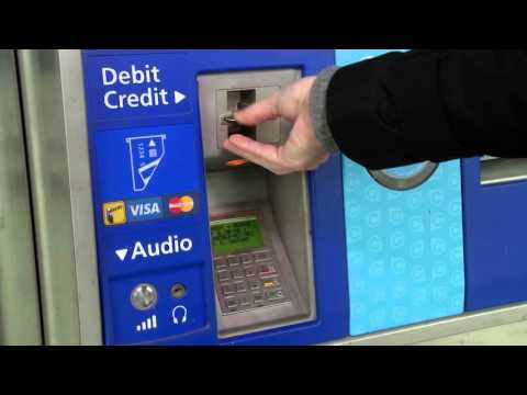 Loading Your Compass Card At A Compass Vending Machine